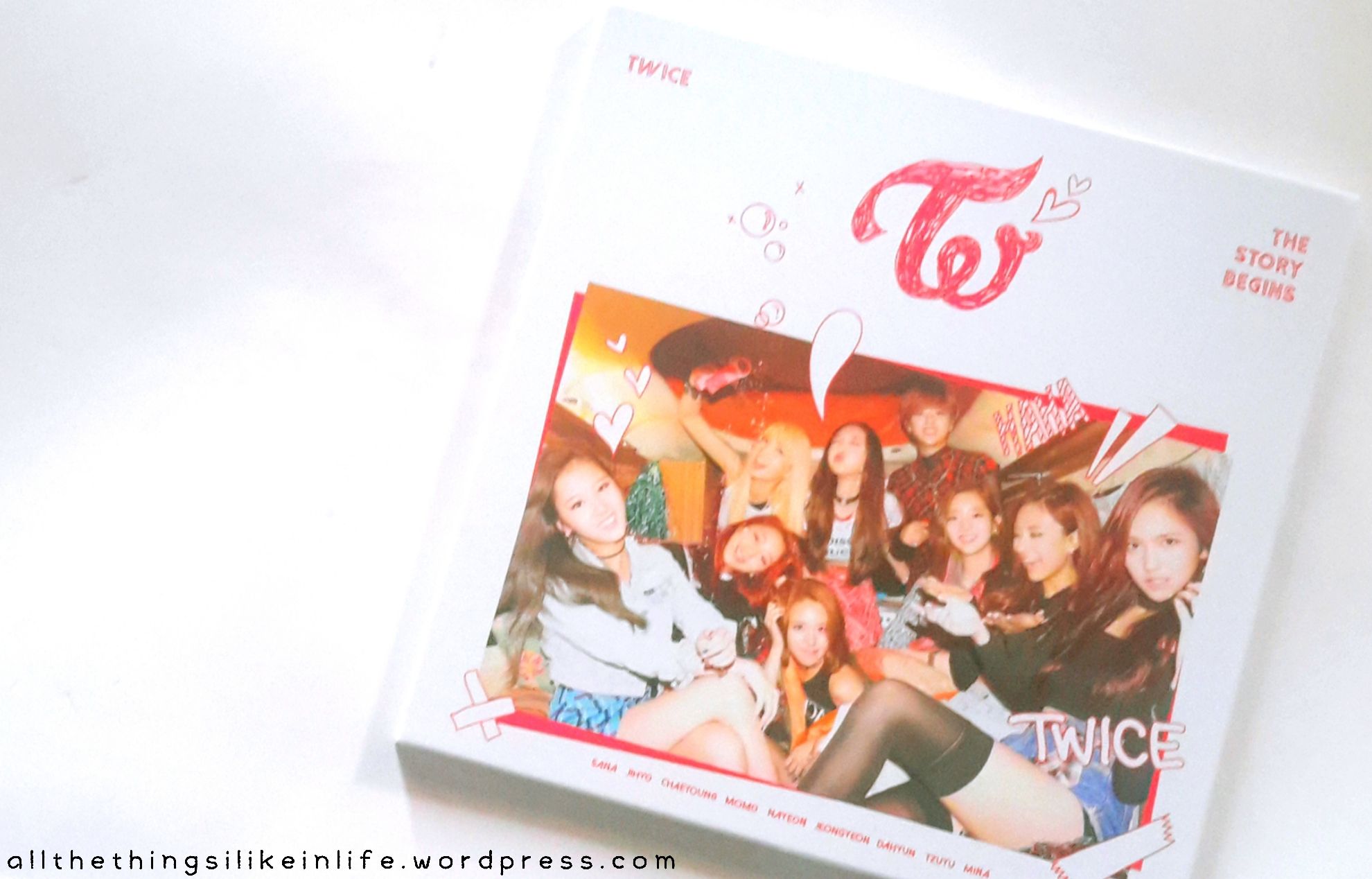 Review Twice Debut Album The Story Begin Ooh Ahh All The